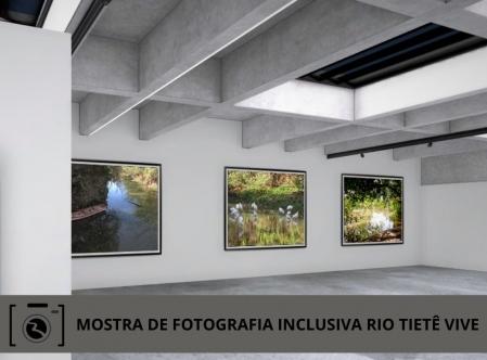Mostra de Fotografia Inclusiva Rio Tietê Vive